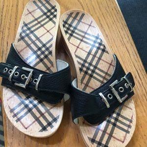 Burberry clog sandals 38